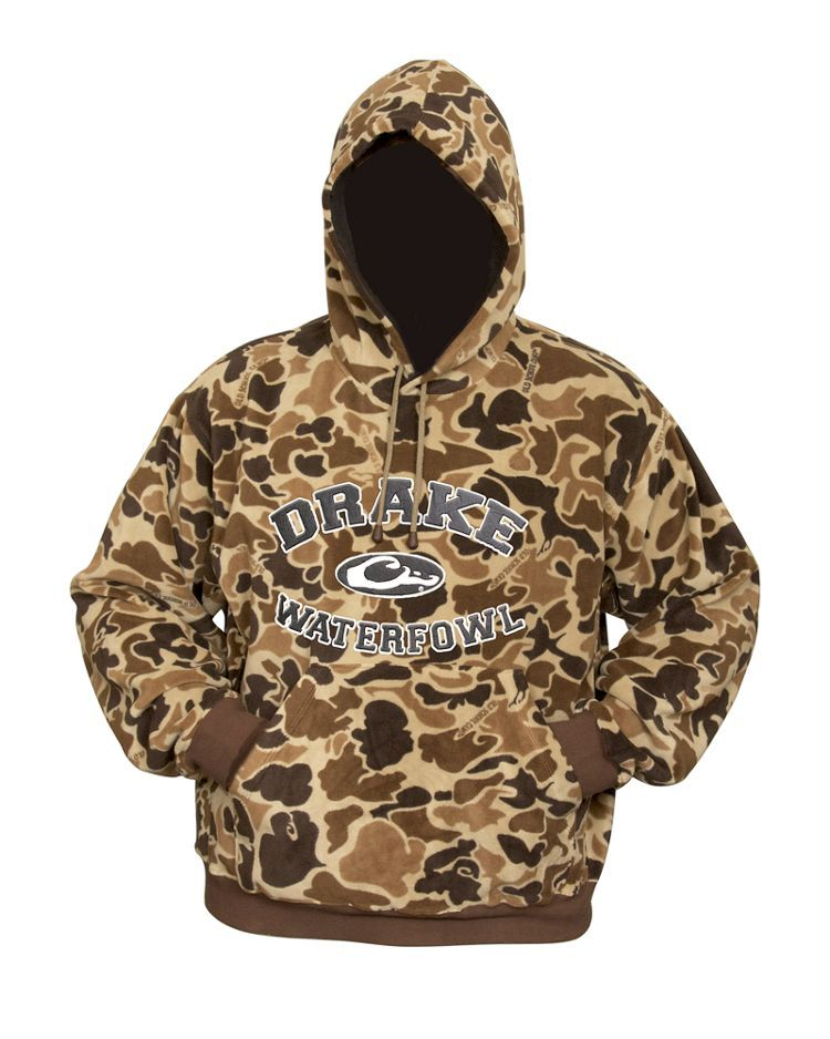 4d75c5d5a117b Drake Waterfowl® System Embroidered Camo Hoodie for Men | Bass Pro Shops