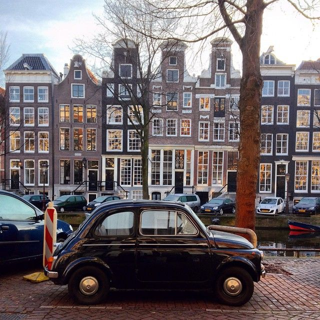 The charming streets of Amsterdam. Photo courtesy of aphototraveler on Instagram.