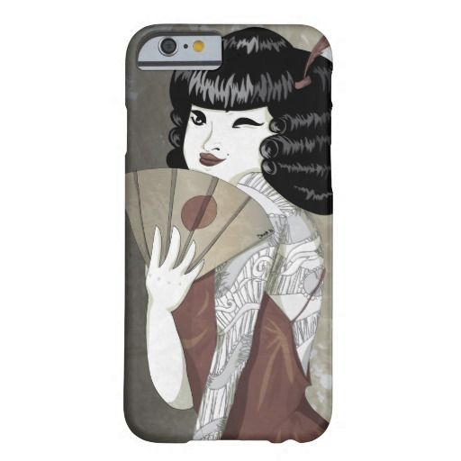 Japanese Pin Up iPhone 6 Case