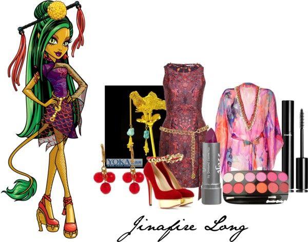 Jinafire long monster high pinterest monster high et tenue - Tenue monster high ...