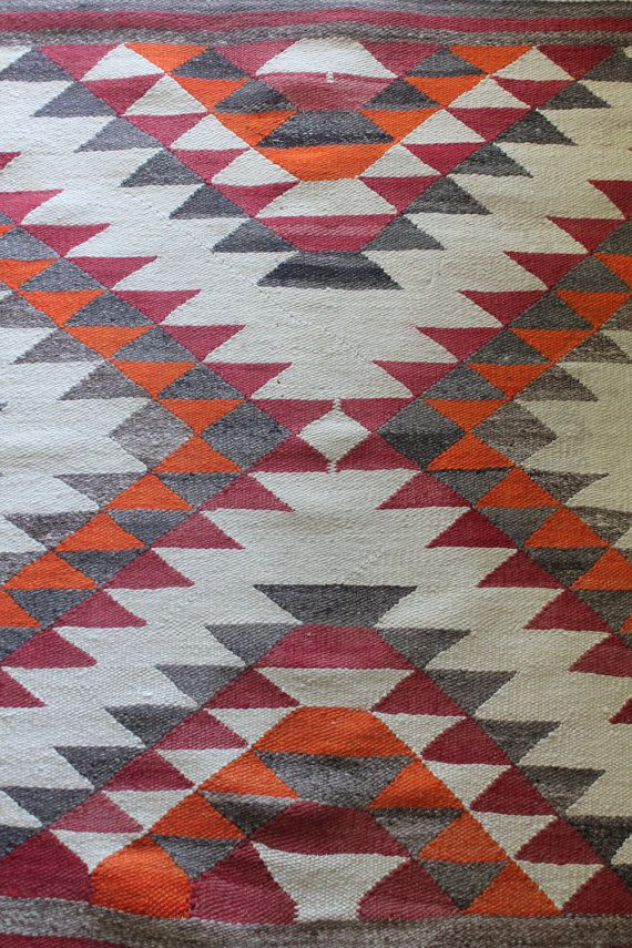 Antique 20 S Hand Woven Navajo Eye Dazzler Rug E T H N I