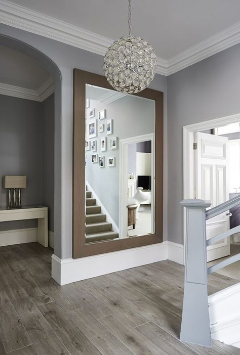 large mirror at the bottom of the stairs luxury home on ideas for decorating entryway contemporary wall mirrors id=64319