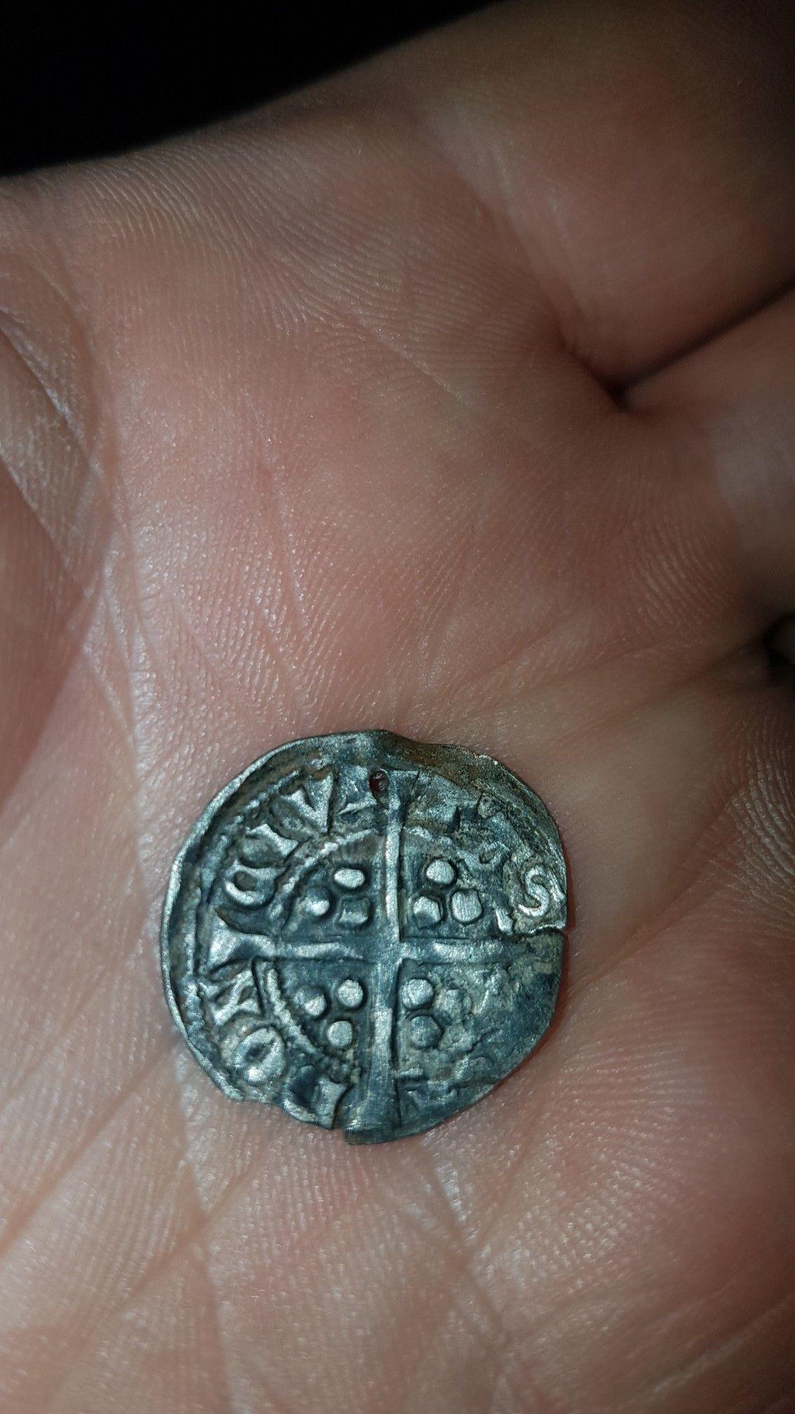 Eddy 1st penny 12721307 found near portrush on 4th may