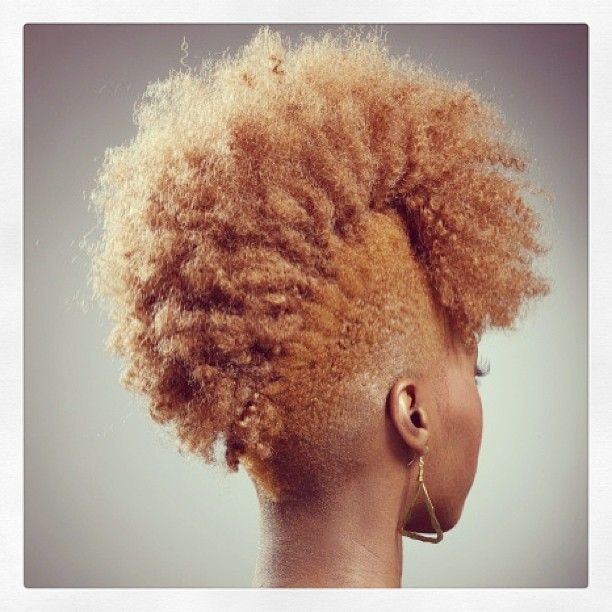 Groovy 1000 Images About Natural Hairstyles Frohawk On Pinterest Short Hairstyles For Black Women Fulllsitofus