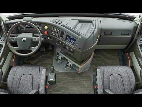 Volvo Vnl 2018 Interior Mini Bedroom On The Road Luxury Truck Youtube Truck Interior Volvo Trucks Truck Interior Accessories