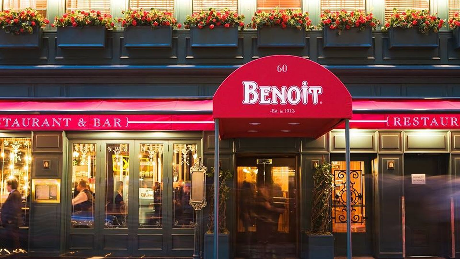 Pete Wells Thinks Benoit Has Found Its Footing As A French Bistro Nyc Vacation York Restaurants Benoit