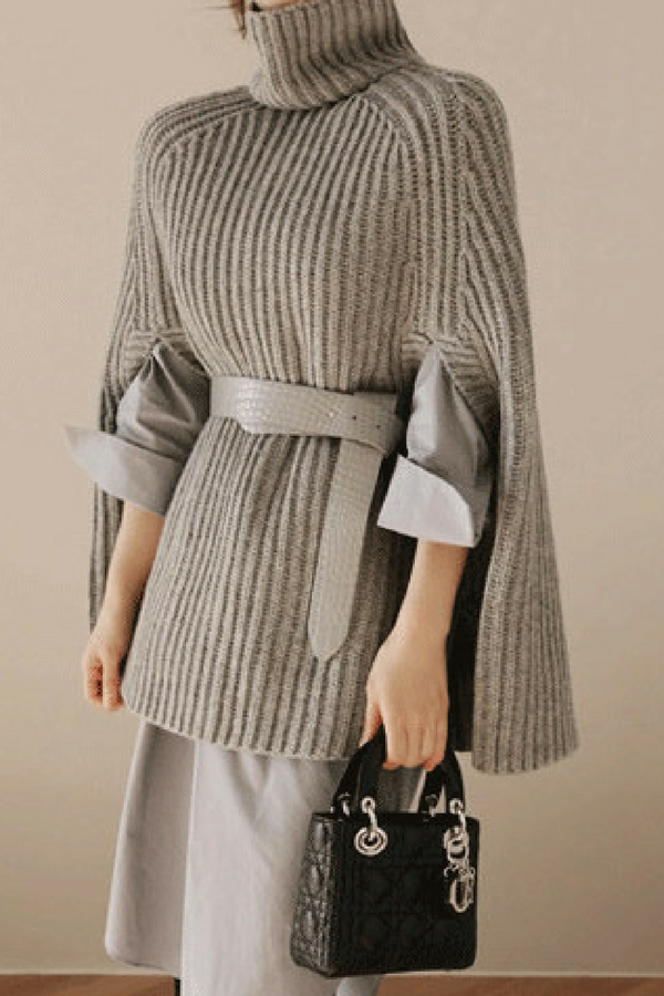 Effortlessly chic.  sweater  knit  chicoutfit  ladiesonlyboutique ... ba7503a09b