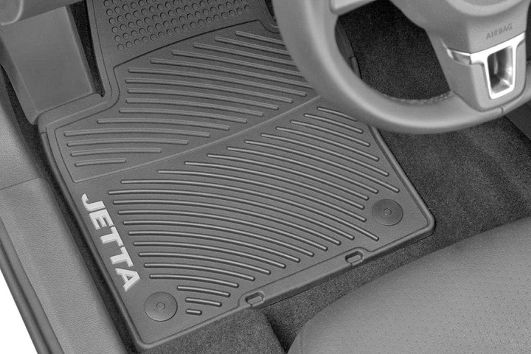 Rubber floor mats vw jetta - 2011 Volkswagen Jetta Monster Mats Rubber Floor Mats