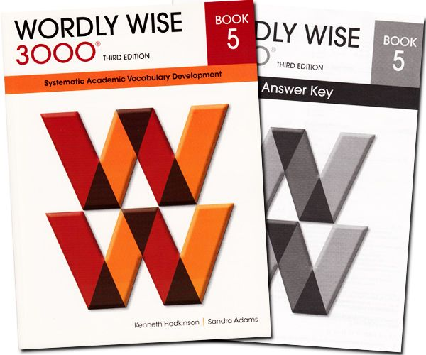 Wordly Wise 3000 Book 5 Answer Key 4th Edition