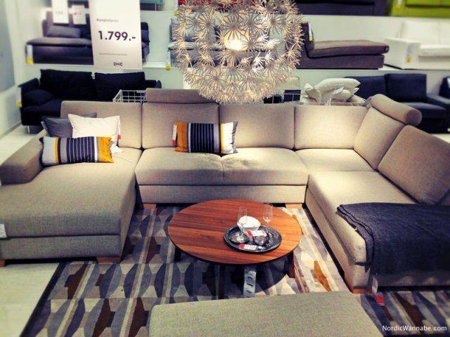 IKEA Ecksofa Sörvallen neu 2016 exklusiv Wohnzimmer Pinterest Nye - gemütliches sofa wohnzimmer