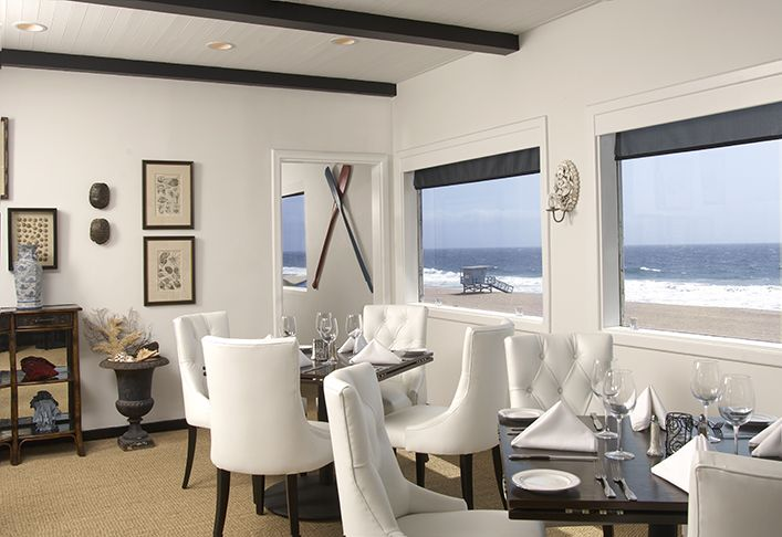 interior design by janette mallory interiors the sunset restaurant malibu