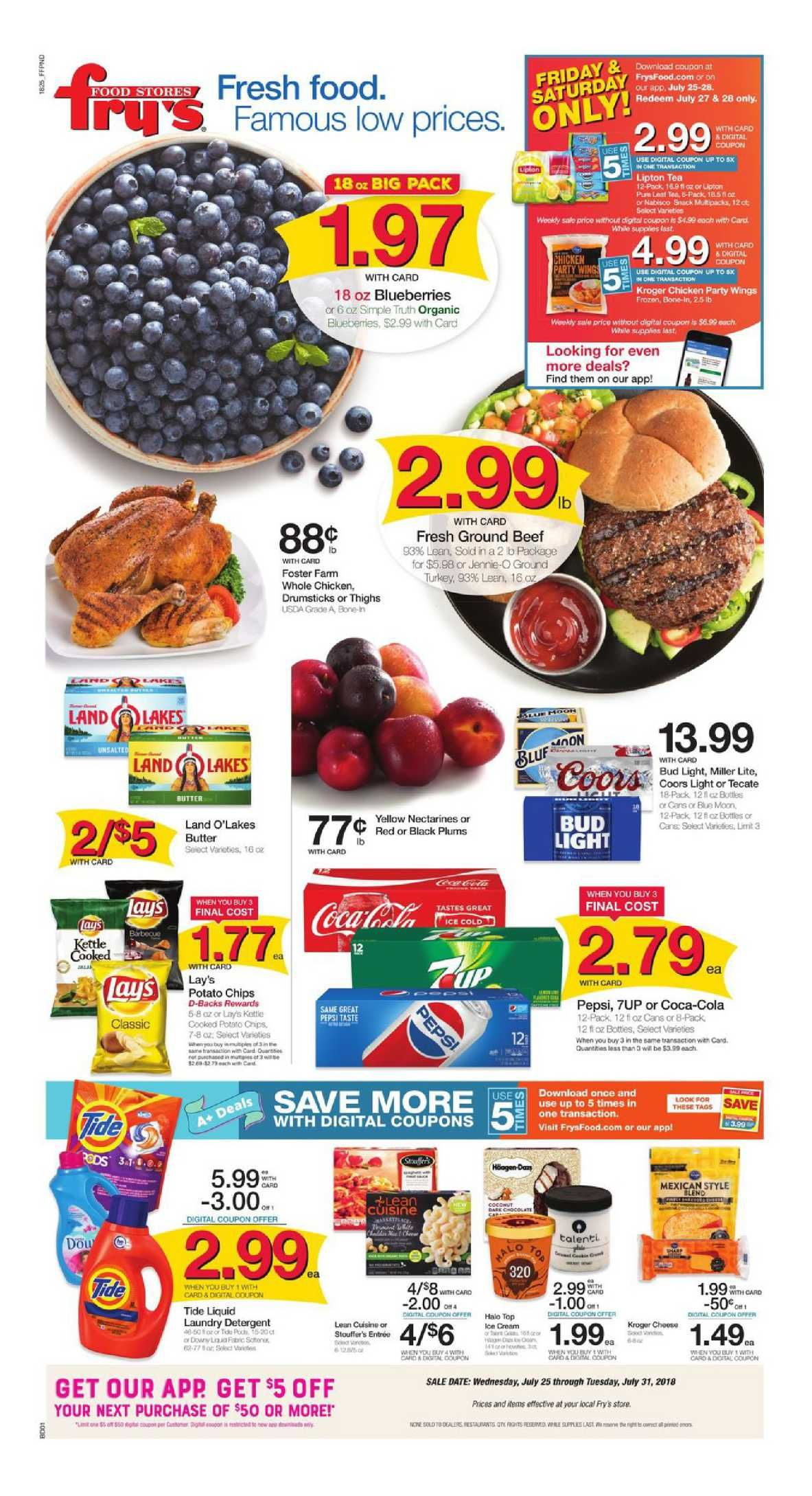 Frys Food Weekly Ad Flyer December 5 11 2018 Weekly Ad