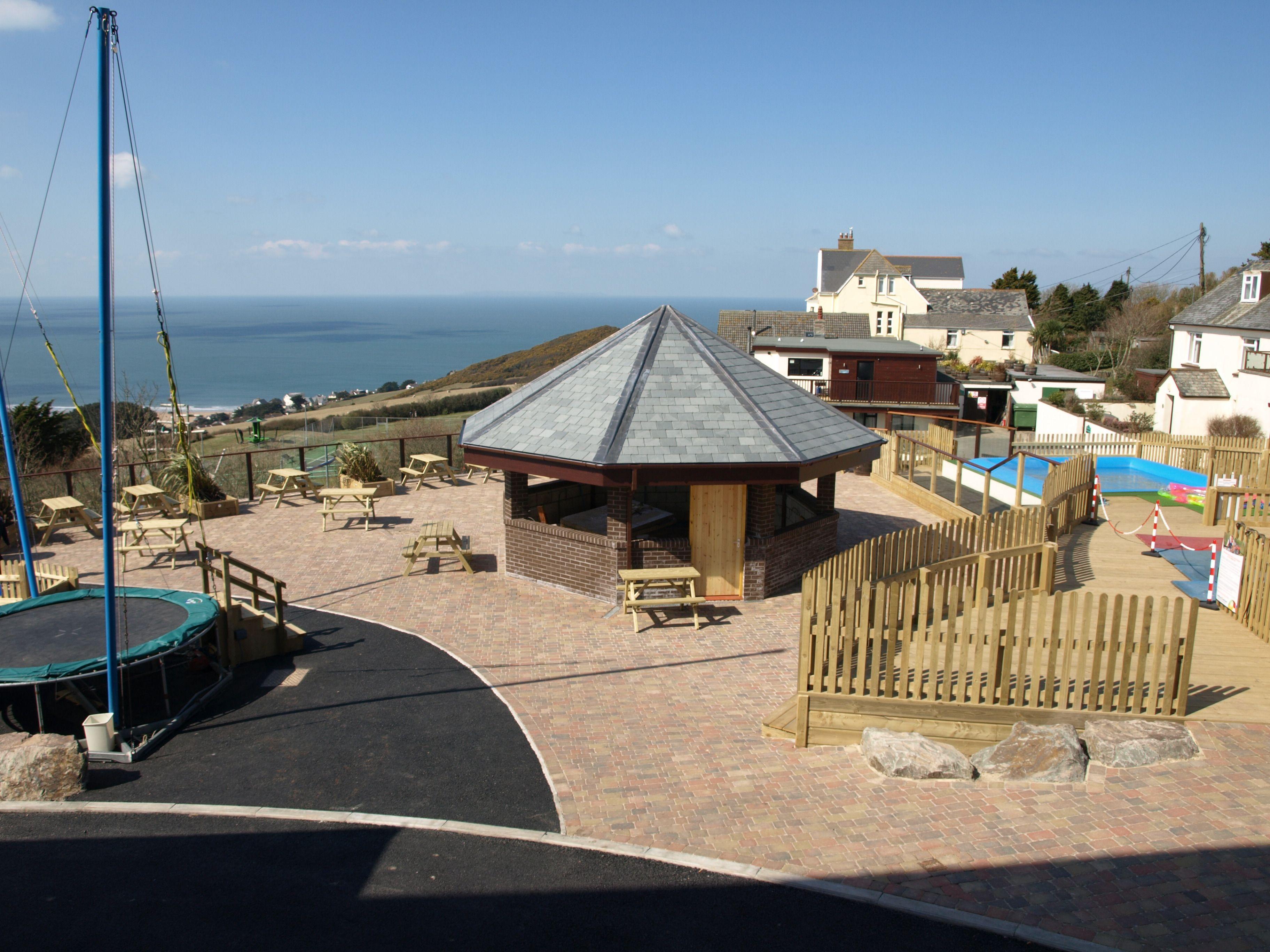 New Ex34 Extreme Sports Area At Woolacombe Bay Holiday Village Holiday Village Patio Umbrella Outdoor Decor
