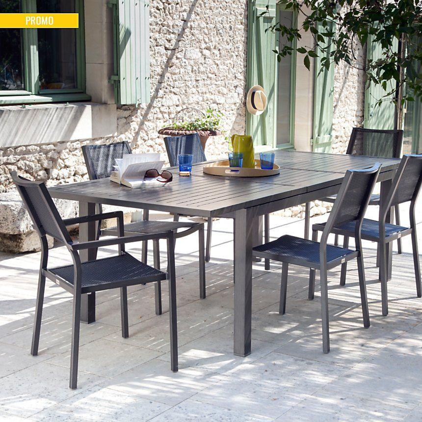 Ensemble Repas Compose D Une Table Milano A Allonge Papillon 180