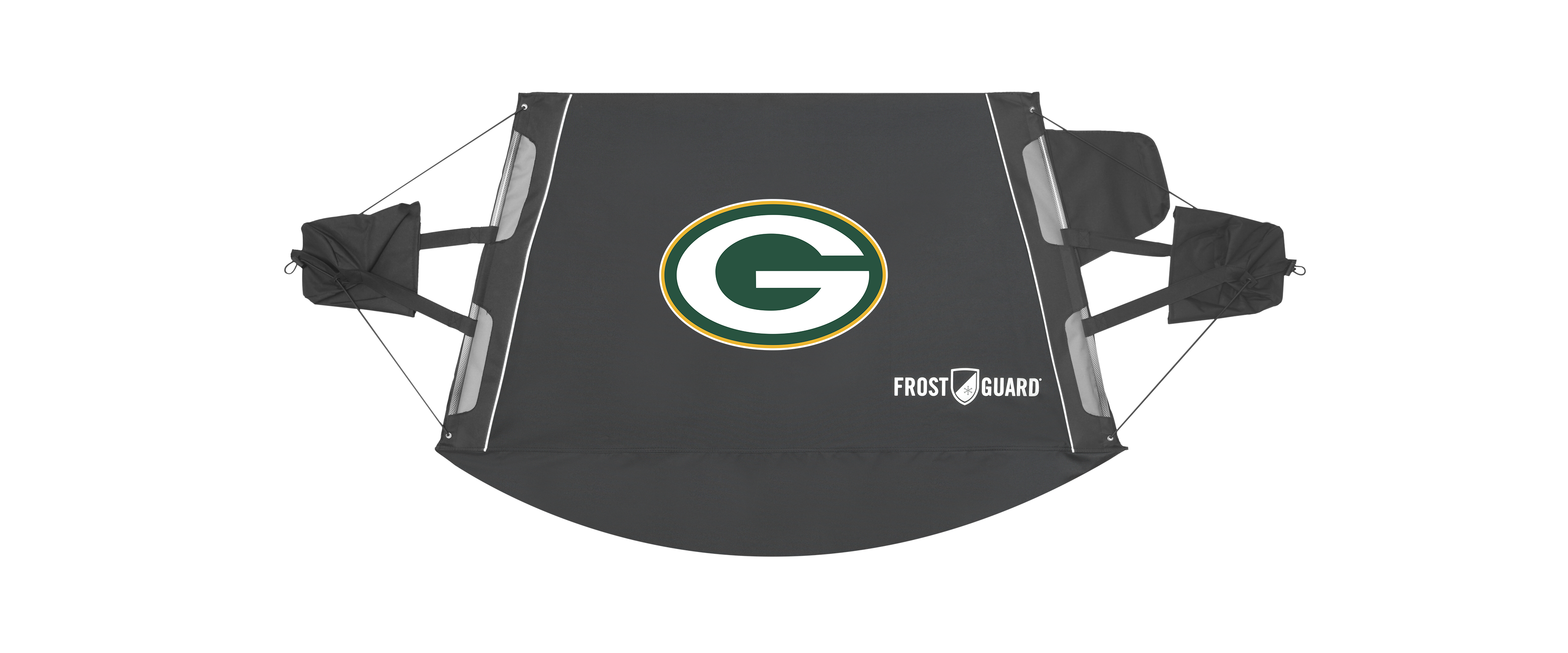 Nfl Frostguard Winter Windshield Cover Green Bay
