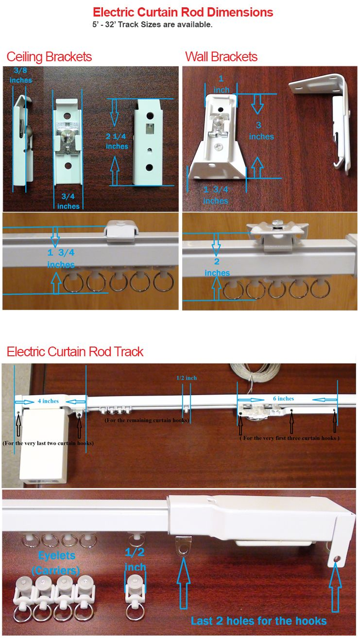 Electric Curtain Rod System Home Theater Curtains Curtain Rods