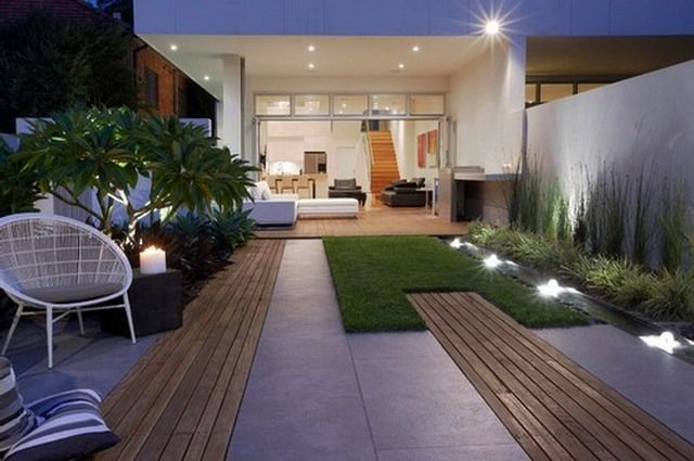 Patio Idea Modern Patio Modern Patio Design Modern Garden Lighting