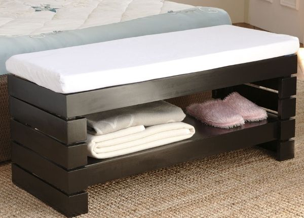 100 Space Saving Small Bedroom Ideas | Bedroom storage bench ...