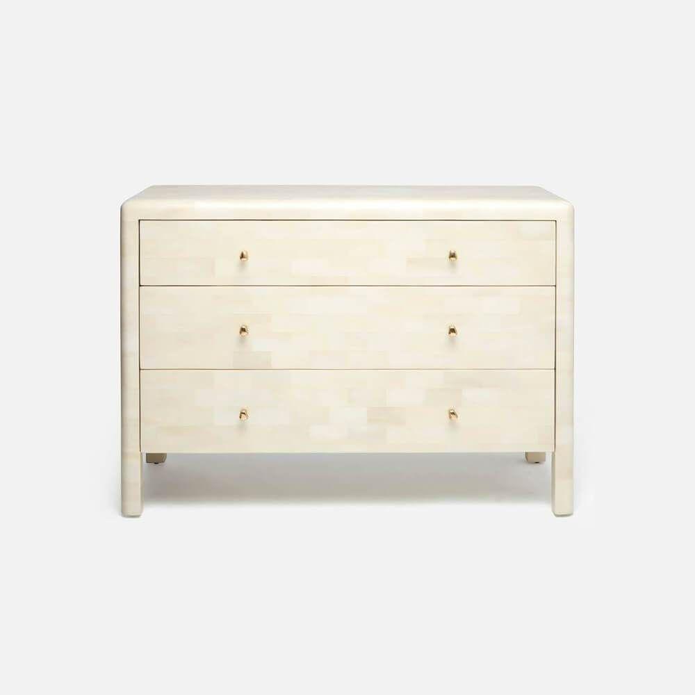 Yaren Dresser Corner Nightstand Organic Pattern Home Decor