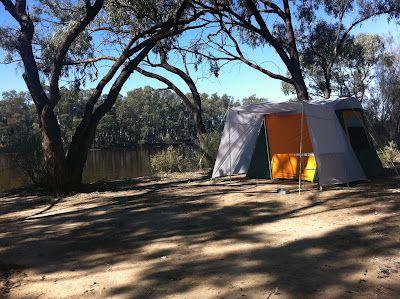 Camping in Mildura, Victoria, Australia Outdoor, Places