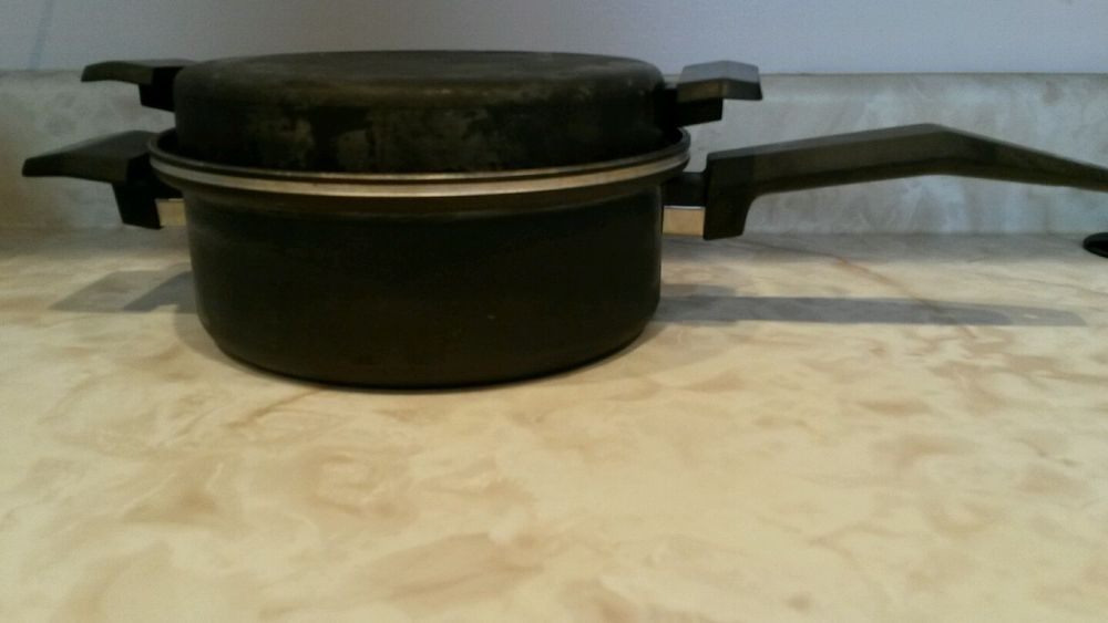 Miracle Maid Cookware 1 Quart Saucepan Anodized Aluminum 8 Skillet