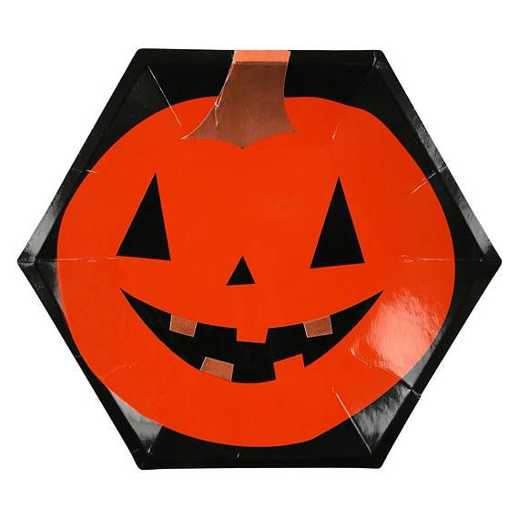 Halloween Decor, Halloween Decorations, Halloween Party Plates
