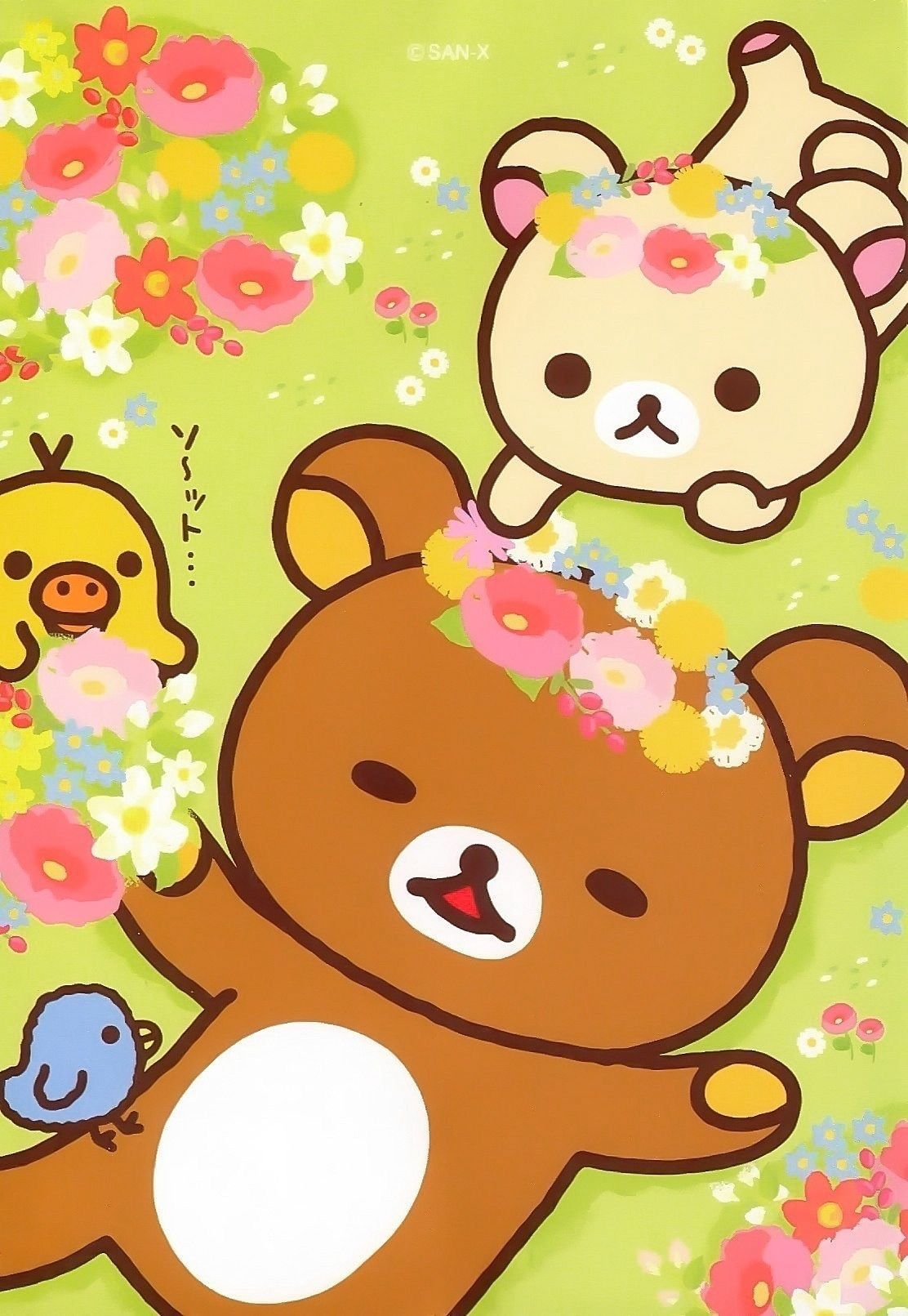 Hello Kitty Fall Iphone Wallpaper Pin By Laila 🎀 On Kawaii ️ Rilakkuma Wallpaper Kawaii