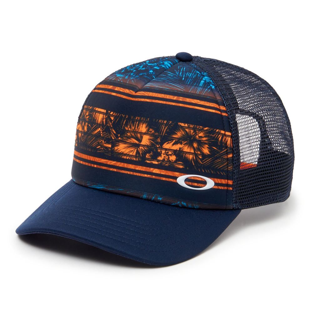 d4d86d234c8439 Oakley Mesh Subliated Trucker Hat Men's   Trucker Hats in 2019 ...