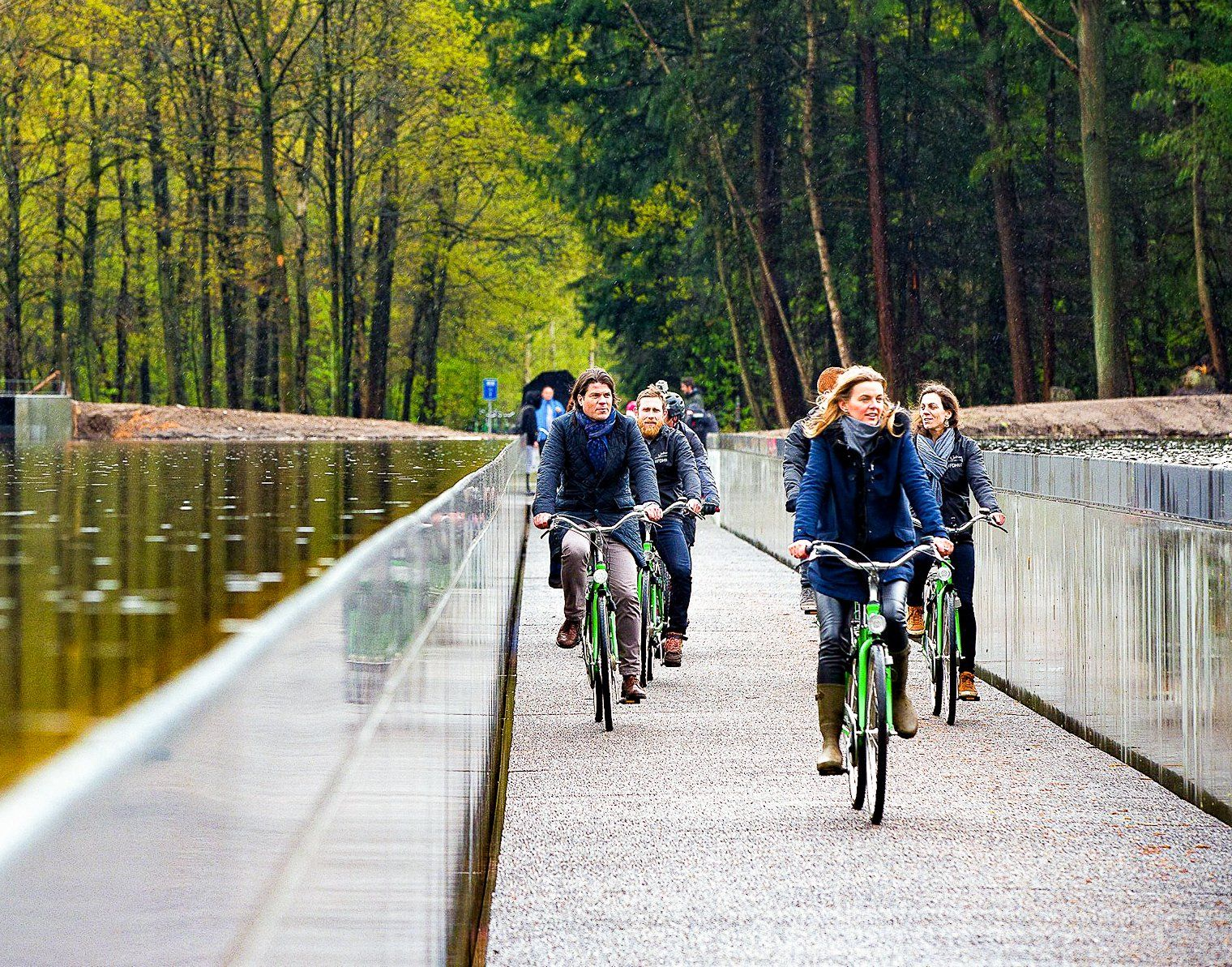 Cycle Through Belgian Waters On This Stunning Bike Path Bike