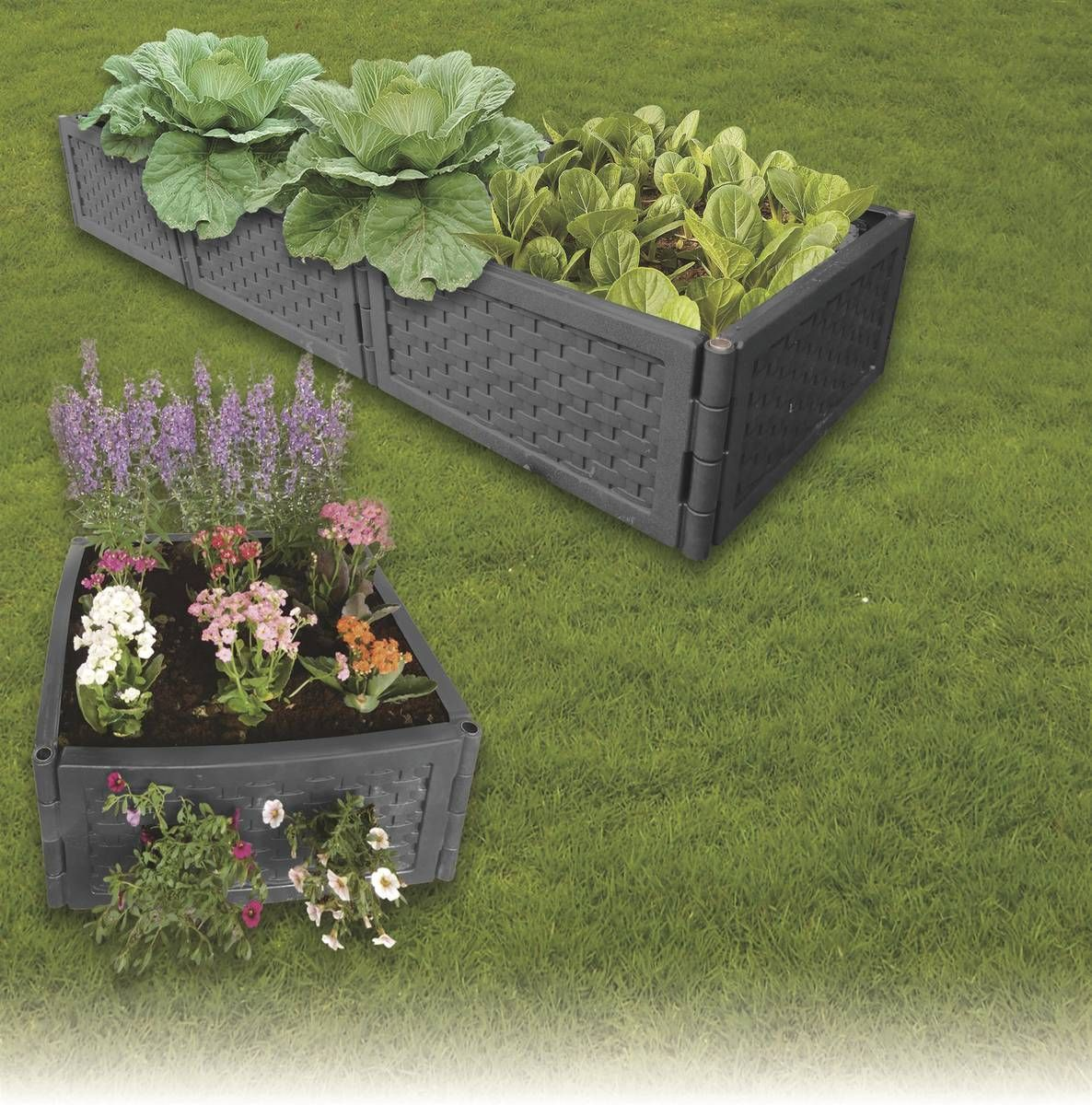 Hochbeet Hochbeet Hochbeet Garten Und Balkon Westfalia Hochbeet Flexibles System Mit Beliebiger Erweiterung In Hohe Und Breite Ideal In 2020 Plants Garden