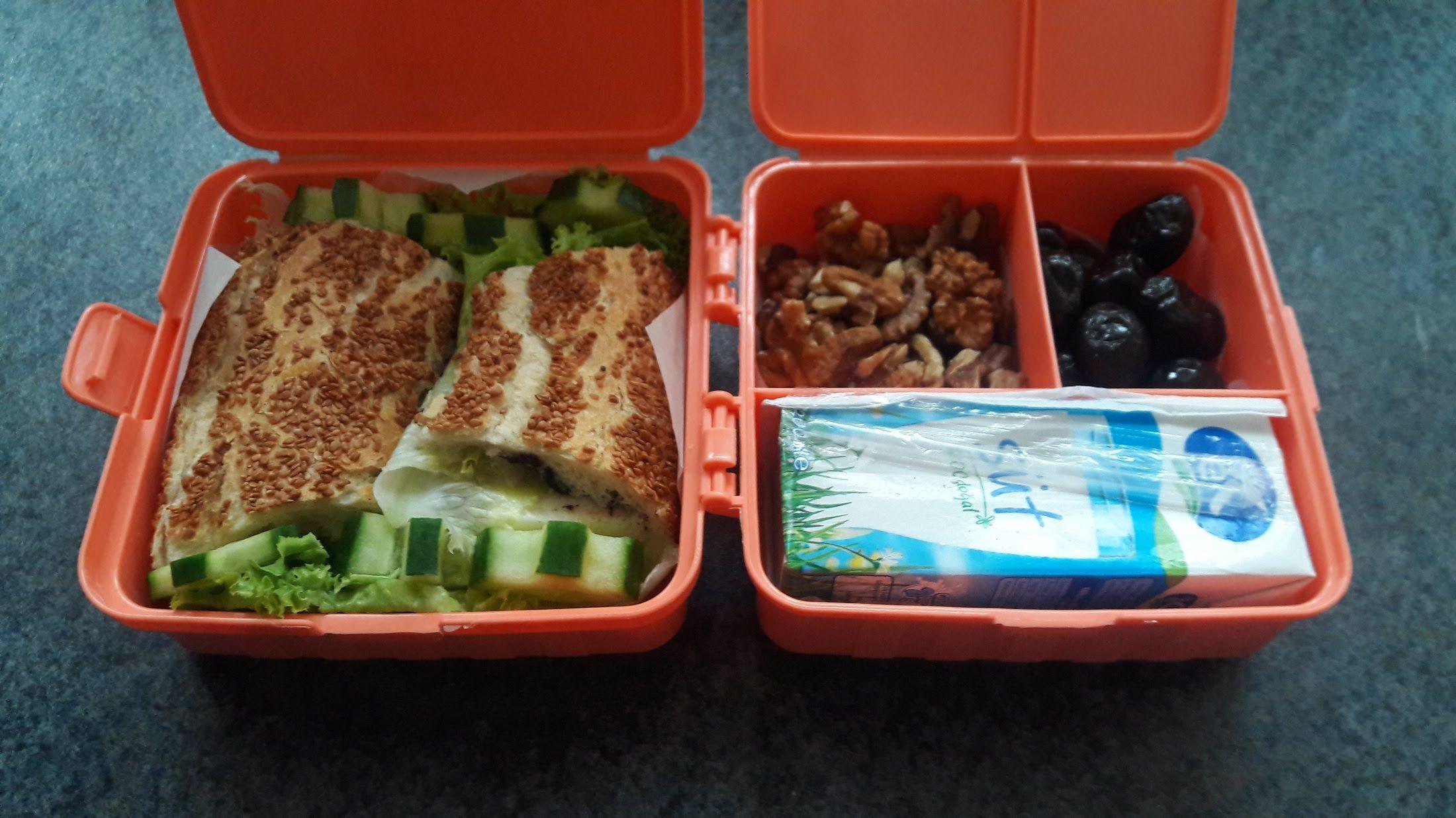 Photo of ÖĞRENCİ YEMEKLERİ – Öğrenciler için Simitli Beslenme Kutusu – Breakfast for students – Bizim Terek