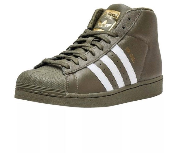 Olive green new never worn adidas pro
