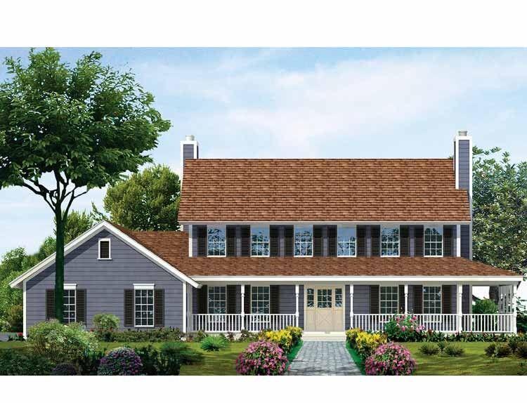 House Eplans Farmhouse Plan