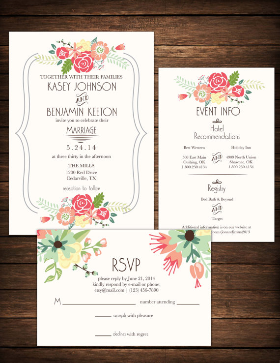 Details do it yourself printable wedding invitation includes do it yourself printable wedding invitation includes invitation solutioingenieria Gallery