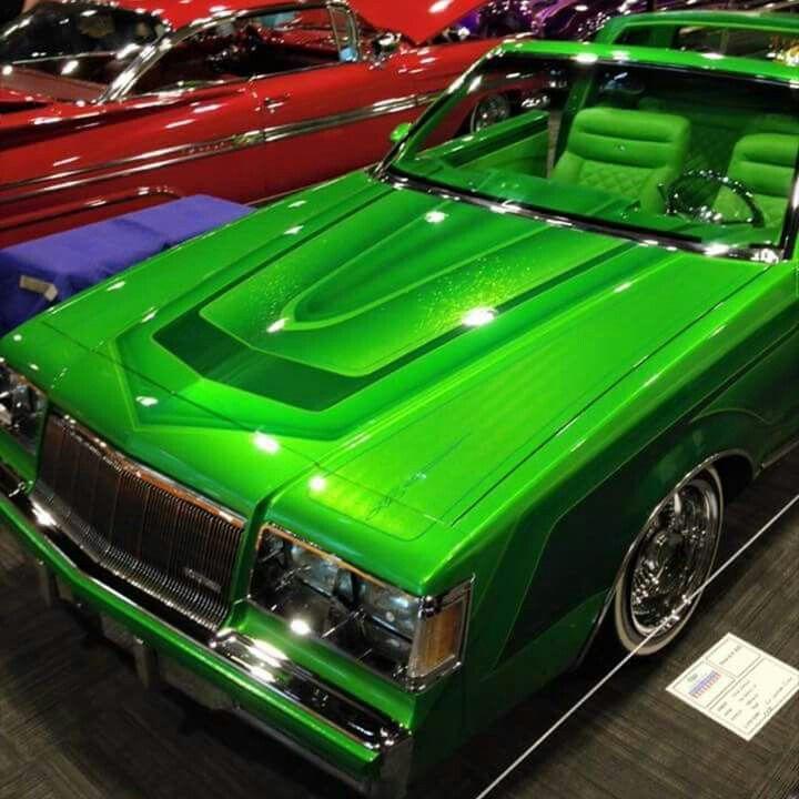 Buick regal custom cars paint candy paint cars