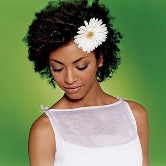 foto de peinados pelo corto flores