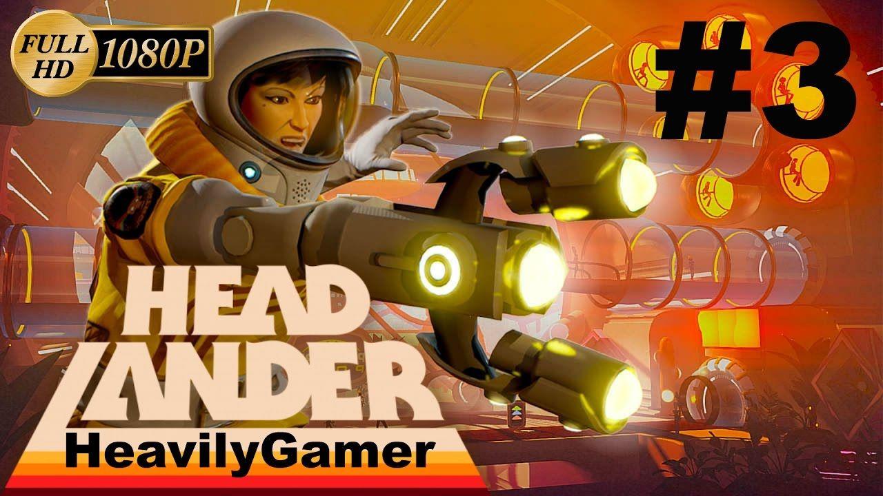 Headlander Gameplay Walkthrough (PC) Part 3:Get To The Power Dome
