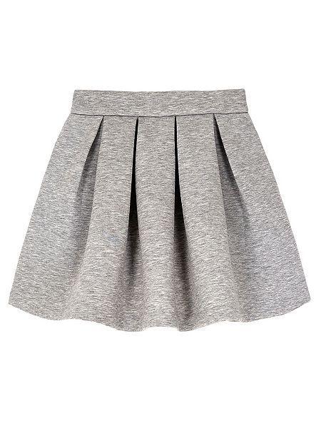 4de42967198d Neoprene Box Pleat Skater Skirt   skirts   Skirts, Skirts for kids ...