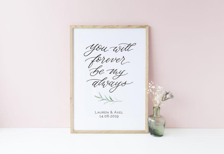 Mein englisch ewig übersetzung uns dein ewig ewig Ewig dein,