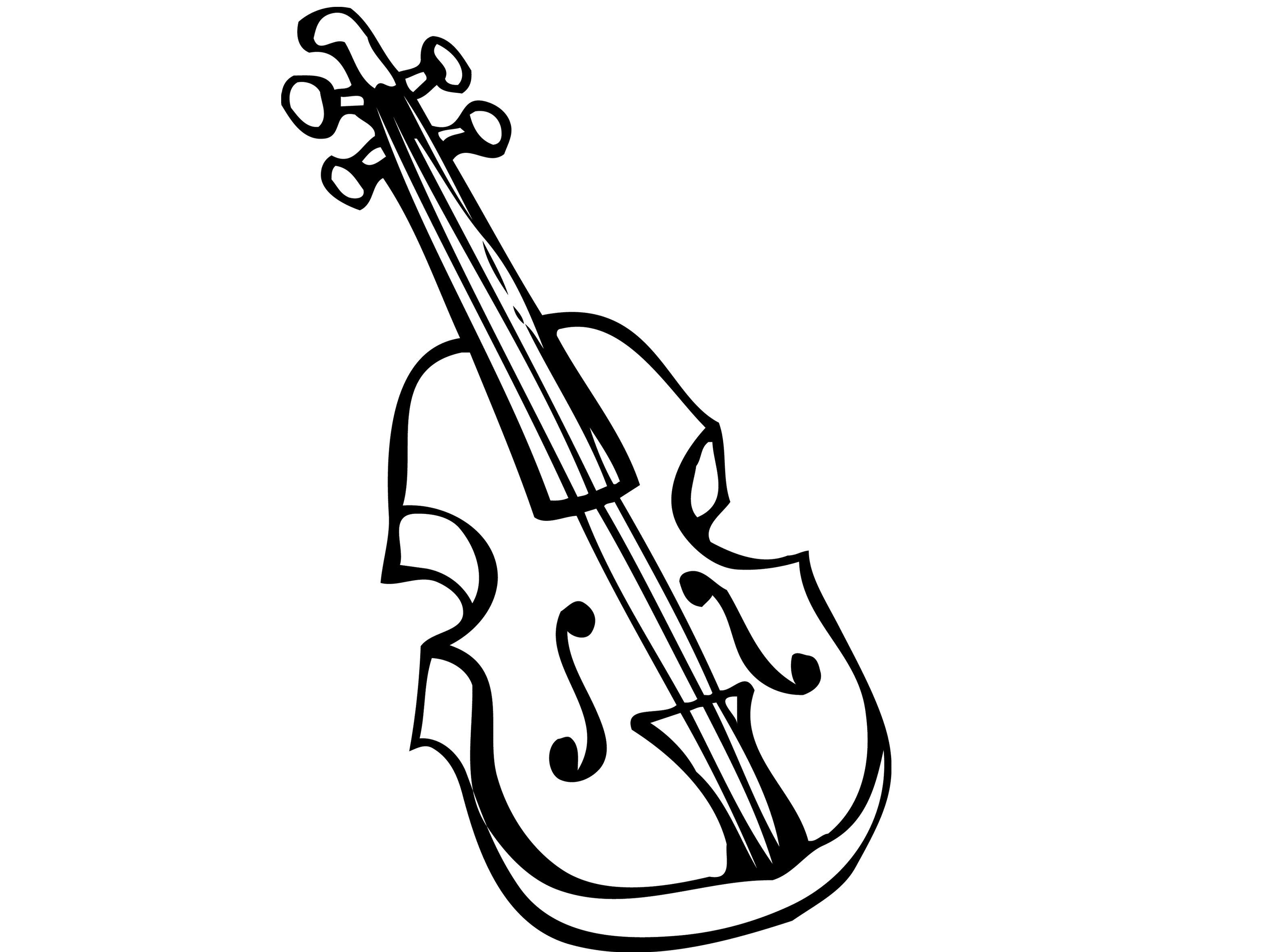10 Images Of Violin Coloring Pages Coloring Images Pages