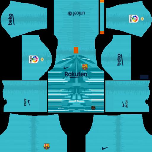 Kit Dls Barcelona 2020 Uniformes De Futbol Deportes Futbol
