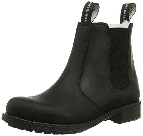 Shepherd SANNA OUTDOOR, Damen Chelsea Boots, Schwarz (BLACK 10), 42 EU