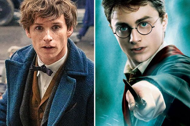 Are You More Harry Potter Or Newt Scamander Newt Scamander Harry Potter Scamander