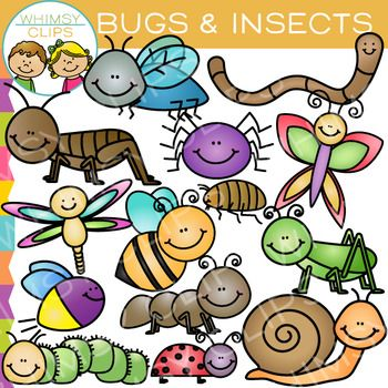 bugs and insects clip art clip art and insects rh pinterest co uk making clipart for teachers pay teachers clip art used on teachers pay teachers