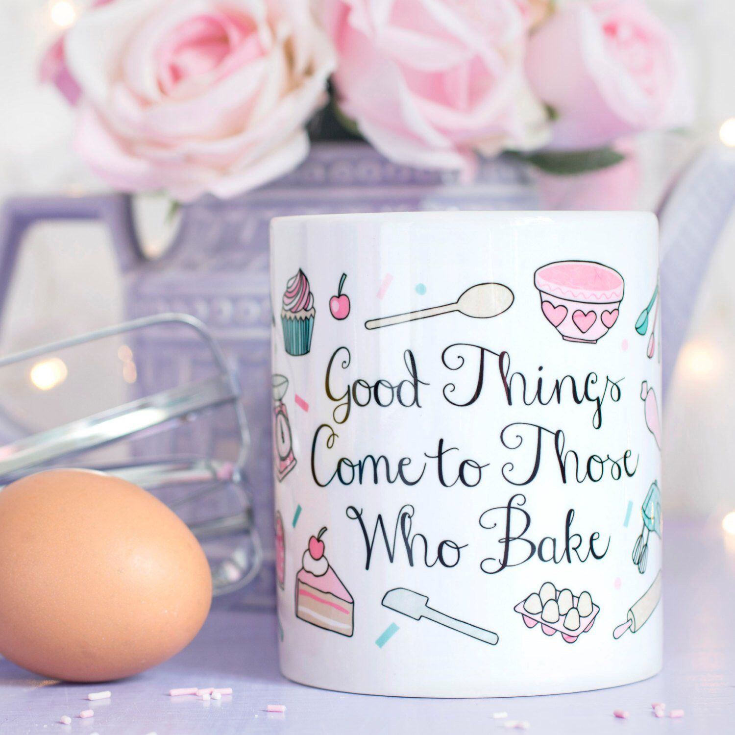 Baking Gift Quote Mug Those Who Bake Collection Gift