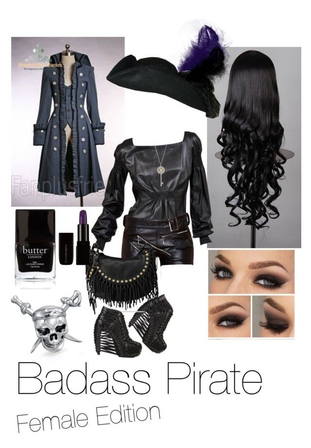 """Badass Pirate"" by fandomdesign1 ❤ liked on Polyvore"