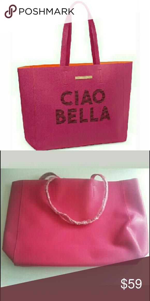 🆕Vince Camuto Ciao Bella Tote Bag NWT  a3edc81643453
