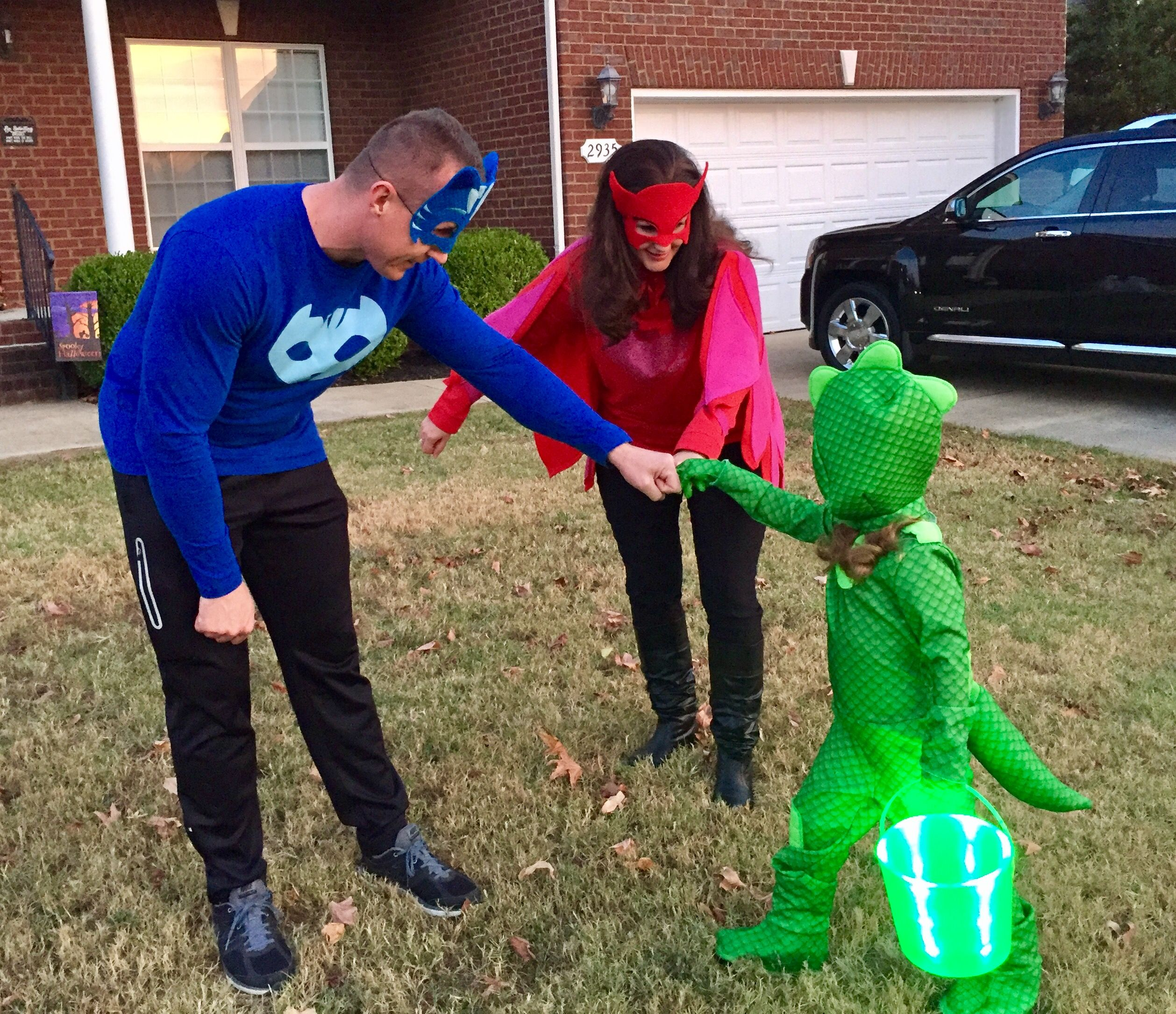 PJ Masks Family Costumes! Gekko's costume came from ...