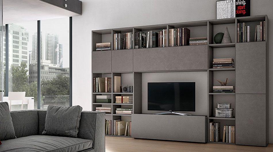 Pramotton Mobili ~ G429 giessegi living room pinterest living walls tv units