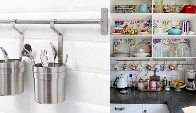 Nachtschränkchen Ikea 7 ikea hacks for your kitchen that you can actually do ikea hack